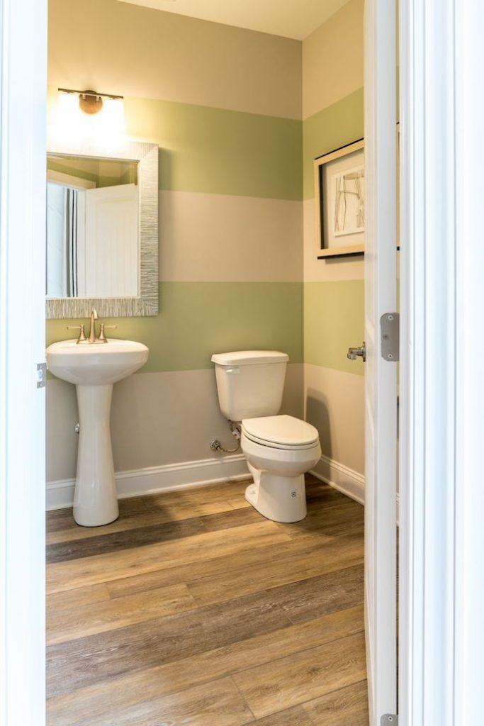 Powder Room Bathroom McKee Builders